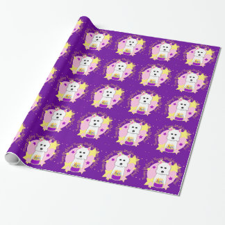Westie Happy Birthday Wrapping Paper