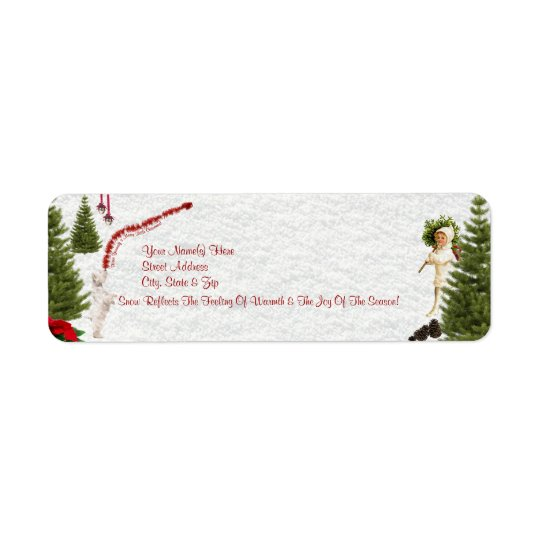 Westie Have Yourself a Merry Little Christmas Return Address Label