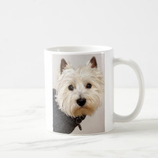 Westie in Sweater on a Mug