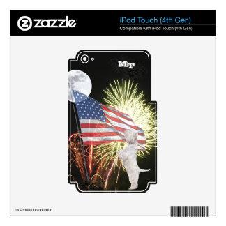 Westie iPod Touch (4th Gen) Custom Skin iPod Touch 4G Skins