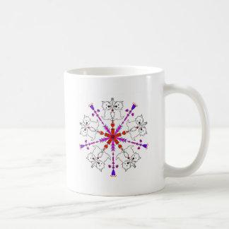 Westie kaleidoscope coffee mug