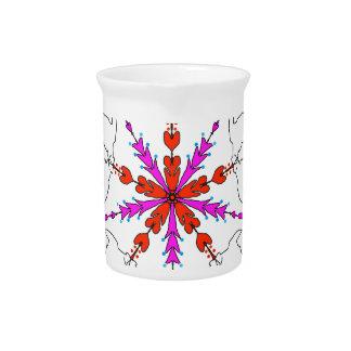 Westie kaleidoscope drink pitchers