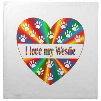 Westie Love Napkin
