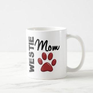 Westie Mom Paw Print 2 Coffee Mug
