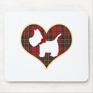 Westie Mouse Pad