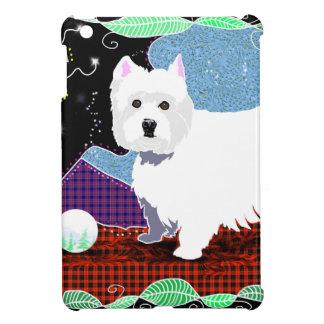 Westie Patchwork iPad Mini Covers
