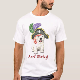 Westie Pirate T-Shirt