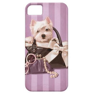 Westie puppy iPhone 5 case