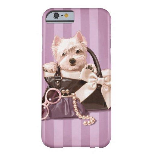 Westie puppy iPhone 6 case