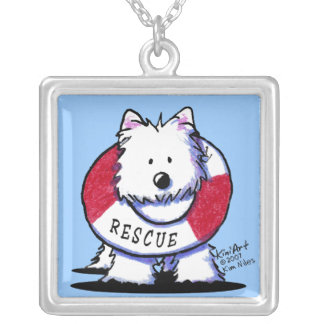 Westie Rescue Necklace