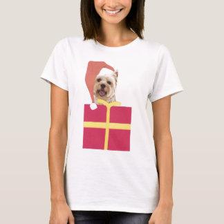 Westie Santa Hat Gift Box T-Shirt