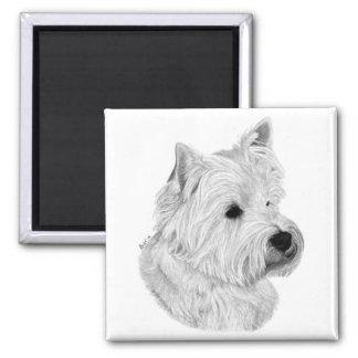 Westie Terrier Magnet