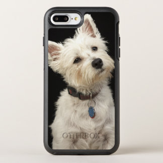 Westie (West Highland terrier) with collar OtterBox Symmetry iPhone 7 Plus Case