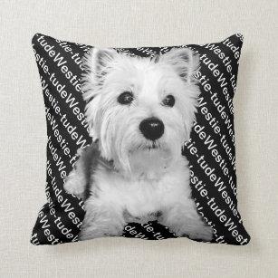 Westie Cushions - Decorative & Throw Cushions | Zazzle AU