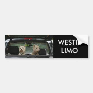 WESTIELIMO CAR BUMPER STICKER