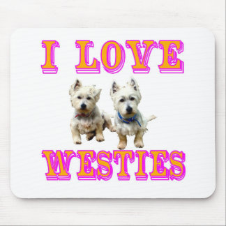 Westies Mouse Pad. Mouse Pad