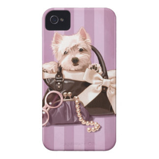 Westland Terrier iPhone 4 Case-Mate Cases