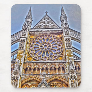 Westminster Abbey London, England Mouse Pad