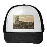 Westminster Abbey, London, England rare Photochrom Cap