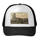 Westminster Abbey, London, England rare Photochrom Mesh Hat