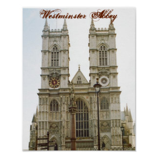 """Westminster Abbey"" Poster"