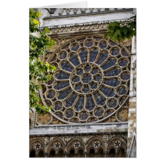 Westminster Abbey - Stained Glass Window - Card