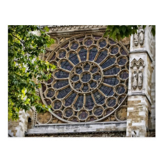 Westminster Abbey -Stained Glass Window -Postcard