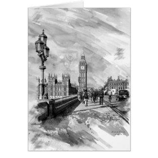 Westminster Bridge Card