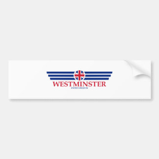 WESTMINSTER BUMPER STICKER