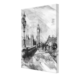 Westminster Day Canvas Print