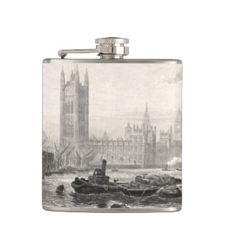 Westminster England 1894 Hip Flask