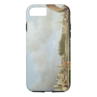 Westminster from Lambeth, with the ceremonial barg iPhone 7 Case
