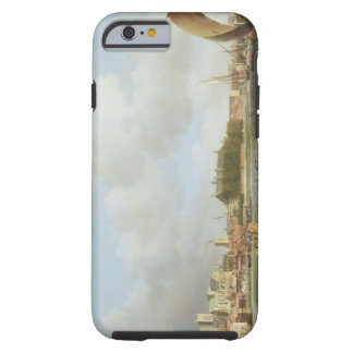 Westminster from Lambeth with the ceremonial barg iPhone 6 Case