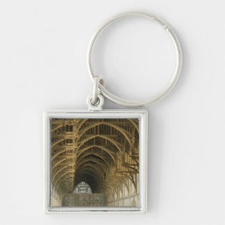 Westminster Hall, engraved by J. Bluck  pub Key Ring