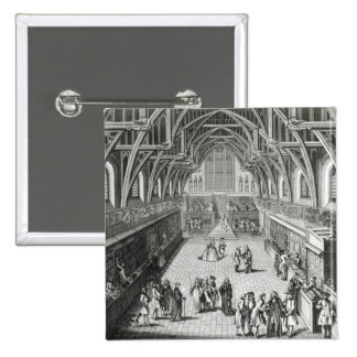 Westminster Hall, The First Day of Term 15 Cm Square Badge