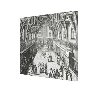 Westminster Hall, The First Day of Term Stretched Canvas Prints