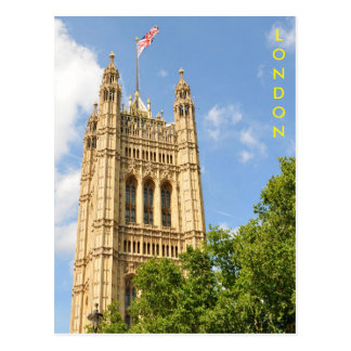 Westminster in London, UK Postcard