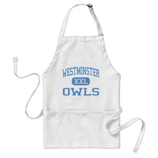 Westminster - Owls - High - Westminster Maryland Apron