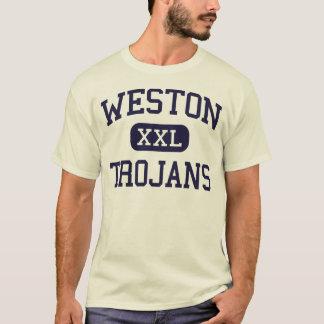 Weston - Trojans - High - Weston Connecticut T-Shirt
