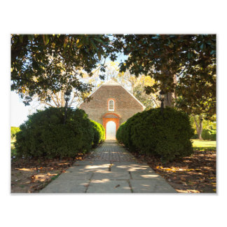 Westover Episcopal Church Photographic Print