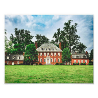 Westover Plantation - River Entrance Photographic Print