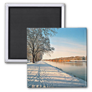 Westphalia Germany Winter Landscape Magnet