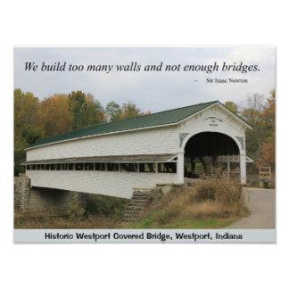 Westport Covered Bridge Inspiration Photo Art