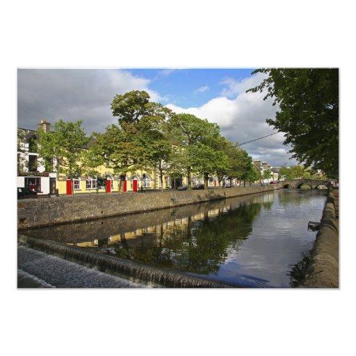 Westport, Ireland. The Atlantic town of Photographic Print
