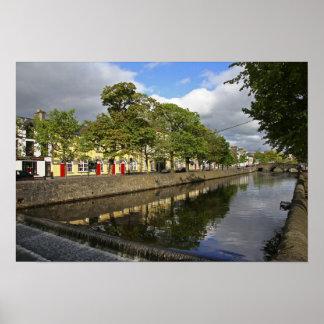 Westport, Ireland. The Atlantic town of Poster