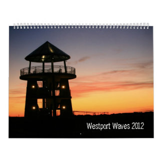 Westport Surfing 2012 Wall Calendars