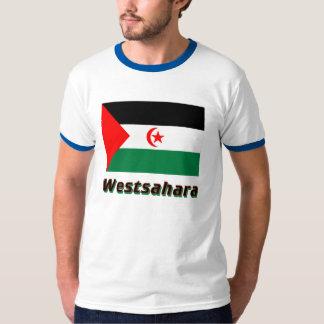 Westsahara Flagge mit Namen Tees