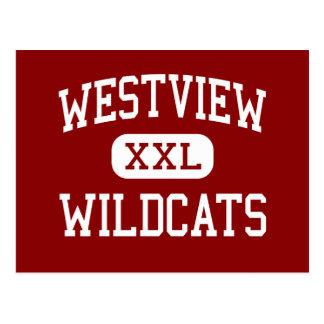 Westview - Wildcats - High - Portland Oregon Postcard