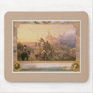 Westward the Course American Painting Mouse Pad
