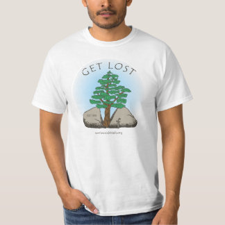 "Westwoods Trails ""Get Lost"" T-shirt"